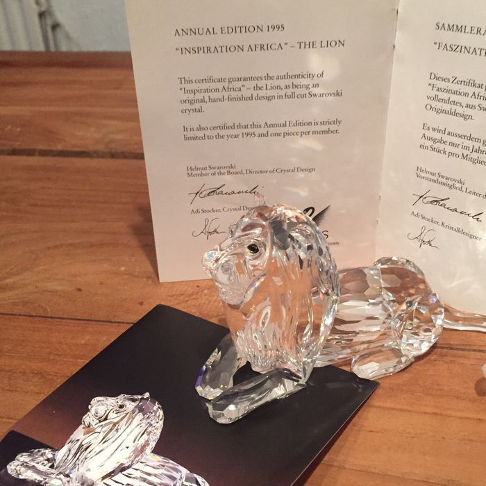 Swarovski - Annual Edition The Lion. - Catawiki