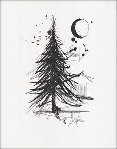 Bernard Buffet (after)  - Le Sapin