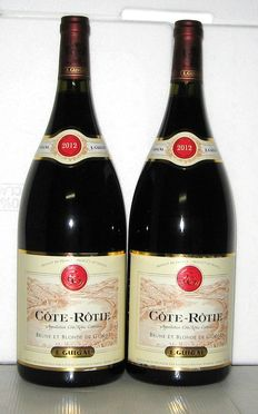 2012 Côte Rôtie Brune & Blonde E.Guigal Estate – Lot of 2 Magnums 1.5 litres