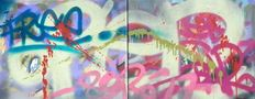 F. Bellot alias SYR - Free Duo  - 2 canvasses