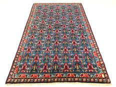 "Berber – 235 x 154 cm – ""Modern oriental carpet in bright colours – In wonderful condition""."