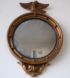Butler mirror with eagle in Neo Empire style - ca. 1920