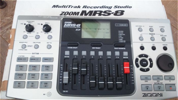 Zoom MRS-8 Recorder Driver for Windows 10