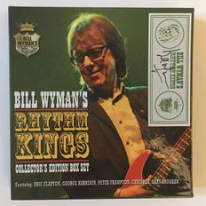 Hand Signed - Bill Wyman's Rhythm Kings - Limited Collectors Edition Box Set