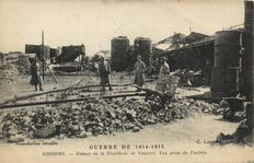 Military Ruins WW 1 France and Belgium 115 x-Ruins War and a number of Belgian cards-1914-1918