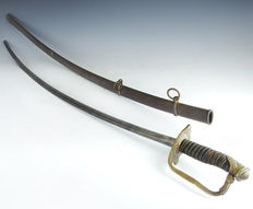 French Officer Light Cavalry 1822 pattern sword, France 1822-1887