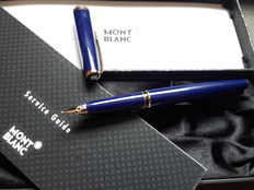 MONTBLANC Generation blue fountain pen - includes original box - Unused