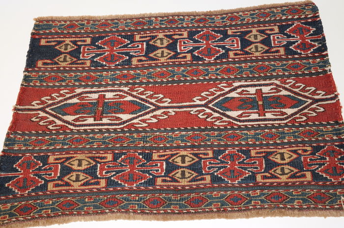 Mafrash Flatweave, Schahsavan-tribes, antique! ca. 51 x 36 cm