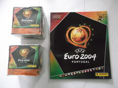 Panini - Euro 2004 Portugal - 2 sealed boxes + 1 empty album.