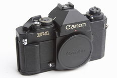 Canon F-1 n body (after 1981)