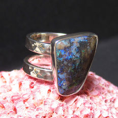 Australian Opal Ladies ring.