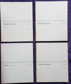 Marcel Duchamp, Jean Clair and others - Chronologie / Catalogue / Abécédaire / Victor - 4 volumes in slipcase -  1977