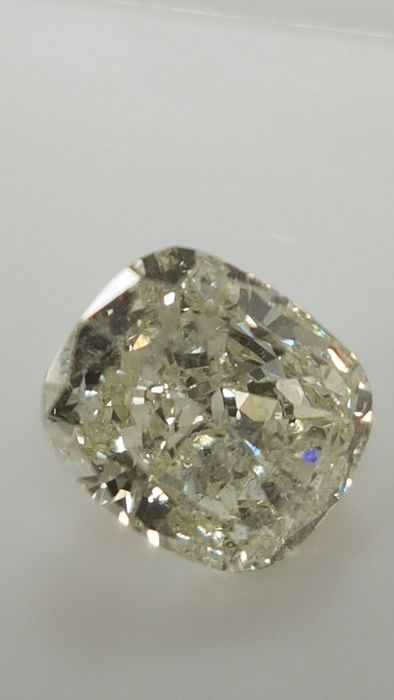 1.19 ct - Cushion cut - White - H / SI1