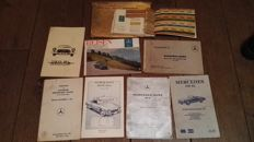 Mercedes-Benz - 190 SL - Owners package + manual (7items) - 1966-1967