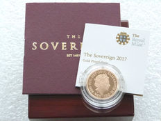 Great Britain - Sovereign 'Elizabeth II' 2017 - Gold
