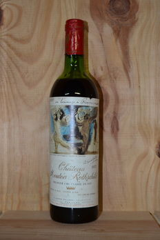 1973 Chateau Mouton Rothschild, 1er Grand Cru Classé - 1 fles