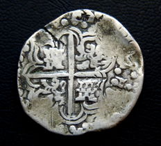 Spain – Philip IV – 8 reales, silver hammered coins – 1621–1665 – Potosi