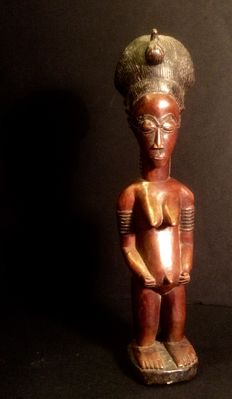 Figurine of the spouse from the Hereafter - BAULE - Ivory Coast