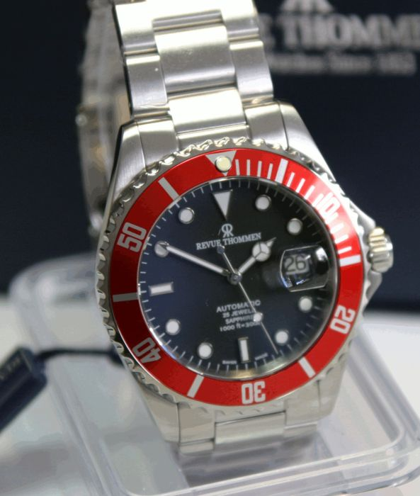 REVUE THOMMEN DIVER automatic 300 m SWISS MADE 2016 never worn