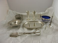 Lot several silver plated, Europa mid 20th century
