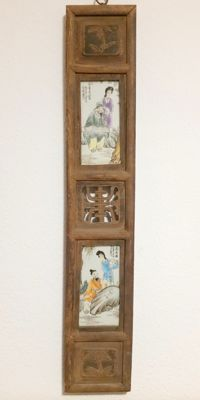 Painting on porcelain - China - end of the 20th century