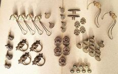 Antique latches and hinges