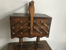 Old Sewing Case / Box