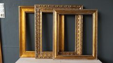 Three gilded picture frames - 20th century-England