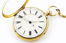 Lepine English pocket watch. Chester, 1871.
