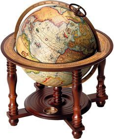 Authentic Models Globe Occidens