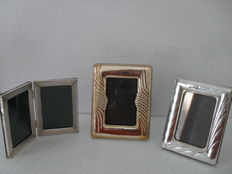 Three frames in silver, Italy ,1960/70