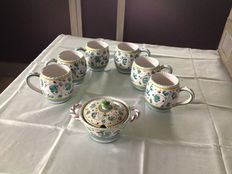 Cama Deruta - Set of 6 tea cups