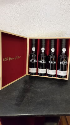 """100 years Dalva port"": 10 years & 20 years & 30 years & 40 years old port – 4 bottles in total of 0.375 l"