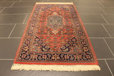 Oriental carpet Bidjar – Made in India – End of the 20th century – Size: 77 x 140 cm