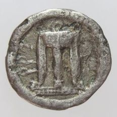 Greek Antiquity - Bruttium, Kroton - AR Third of Nomos or Drachm (510-480 B.C.)