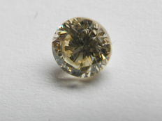 Brilliant cut diamond of 0.39 ct, M, SI2. Low reserve price