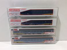 THS/Strijkers N - 4 IC+ carriages of the NS (lot 661)