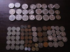 Portugal - Portuguese Republic, collection of 90 coins from the years 1929-1990 . (90)
