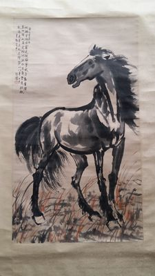 A very large painting - China - 2nd half 20th century
