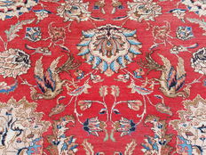 ! Unbelievable and breathtaking Persian Tabriz! Signed! 100% hand-knotted!
