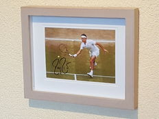 Roger Federer - Tennis legend - original autographed 3D framed photo + COA