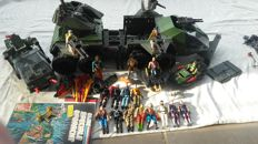 19 GI Joes and the vehicle Ultimate Rolling Thunder