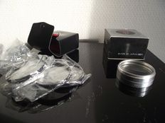 Prinz 7 plus close-up set 49mm filters no1 - no2 and no4 in case