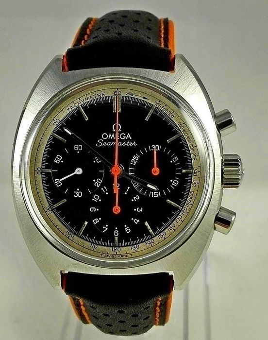 Omega Seamaster Chronograph Vintage Men S Watch 1969 Catawiki