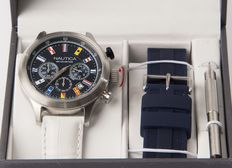 Nautica: NAI18516G. – Men's wristwatch – 2011-present.