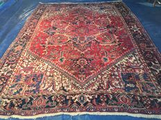 Very large Persian Heriz! Very valuable! Investment! Oriental carpet, hand-knotted