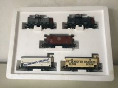 "Märklin H0 - 4791 - Regional carriage set ""Berlin"""