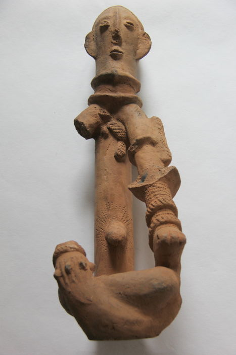 Anthropomorphic Terracotta Figurine - BANKONI - Mali