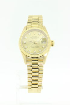 Rolex - Oyster Perpetual Datejust Ref 69178 lady's watch - 1983