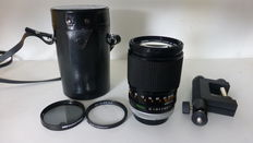 Canon 2.5 135 mm FD objective with accessories